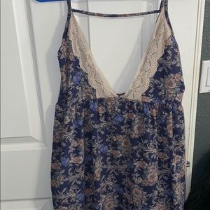 Audrey 3+1 floral lace dress